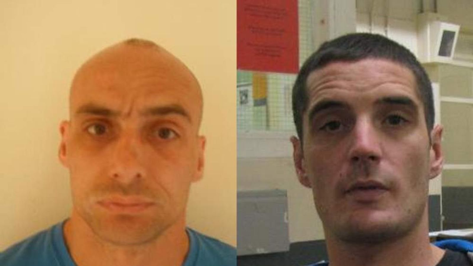 On-the-run prisoners Anthony Peloe and John Arnold