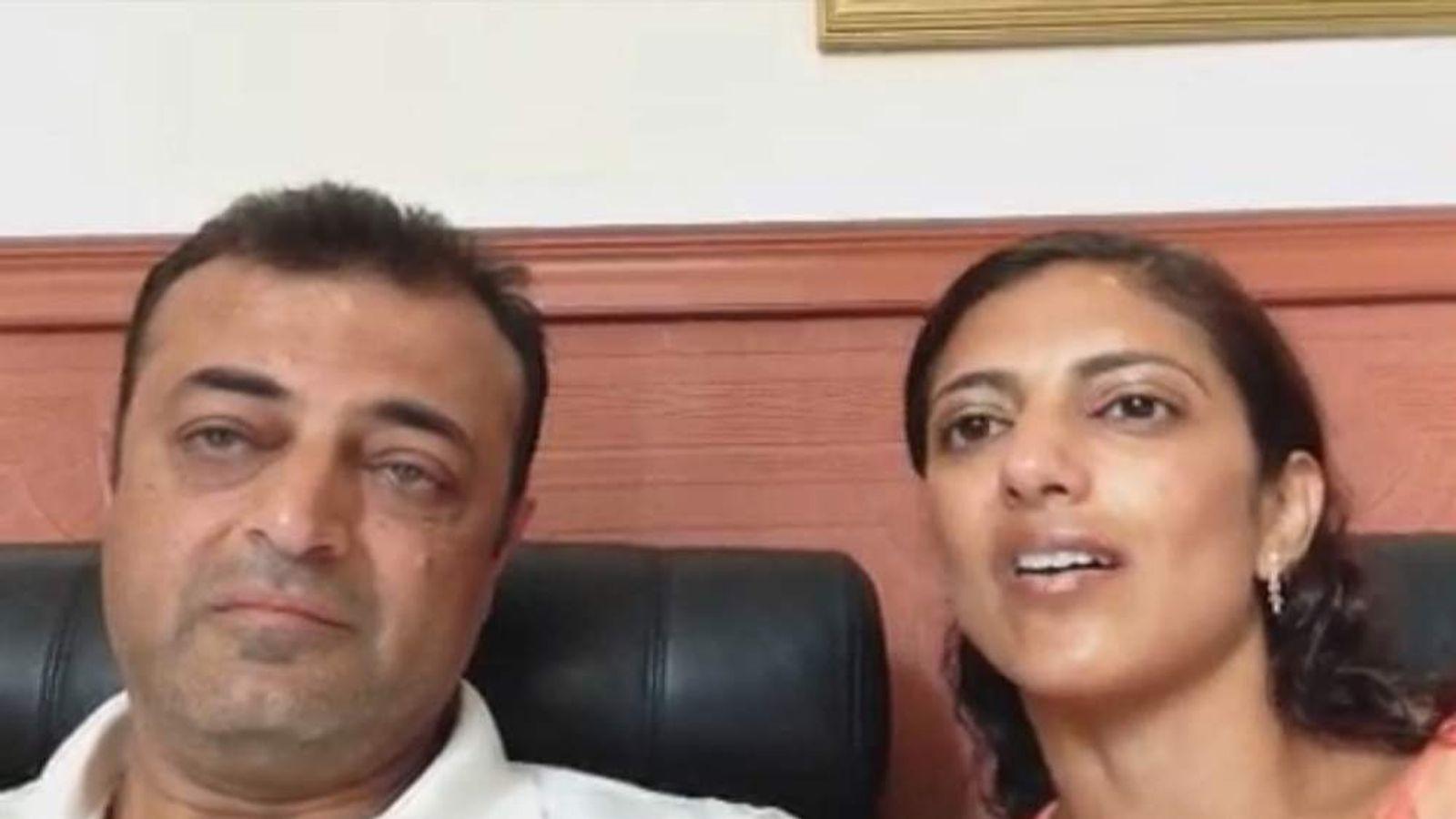 Ashok and Amy Dewani