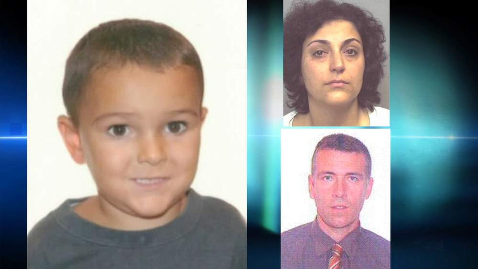 Ashya King and his parents Brett and Naghemeh King