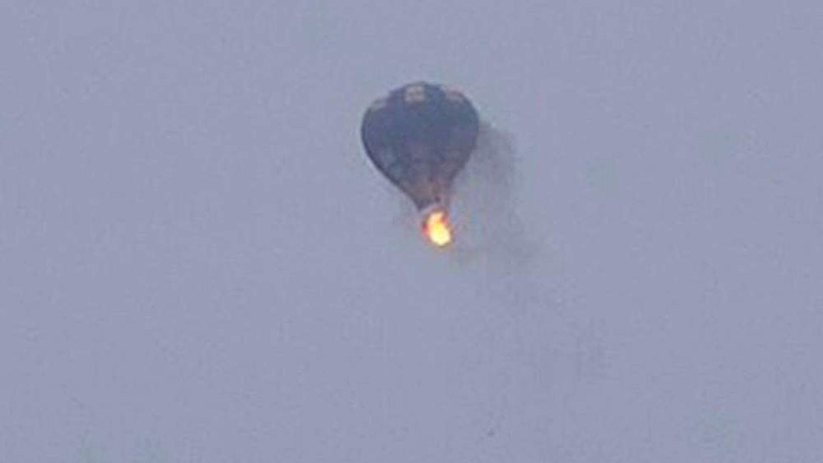 Photo of balloon. Pic: Jim Cox
