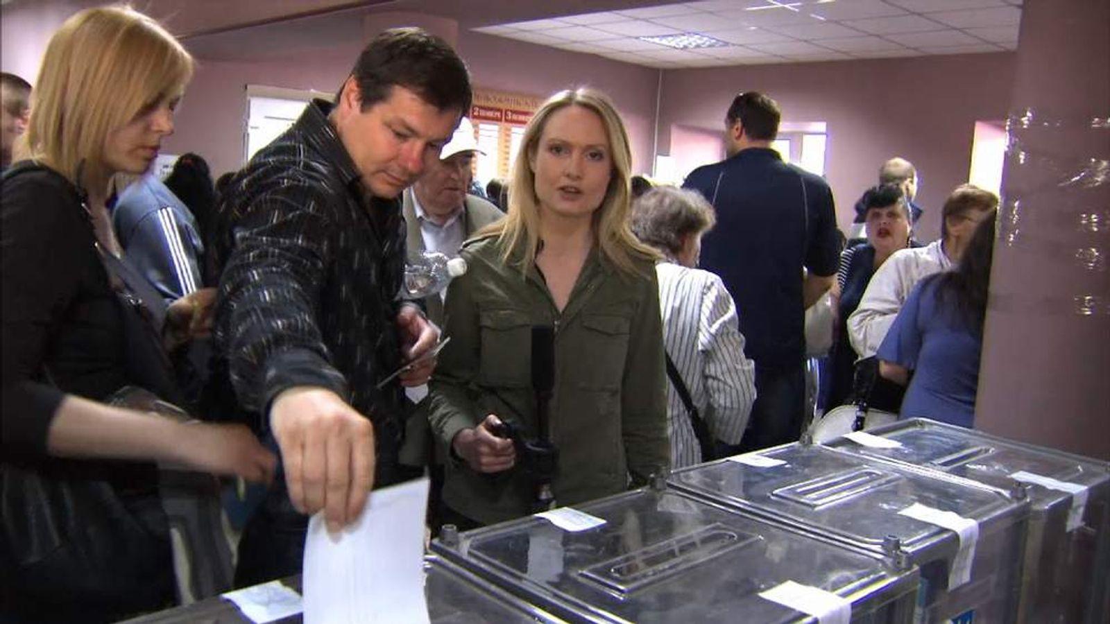 Ukraine disputed referendum