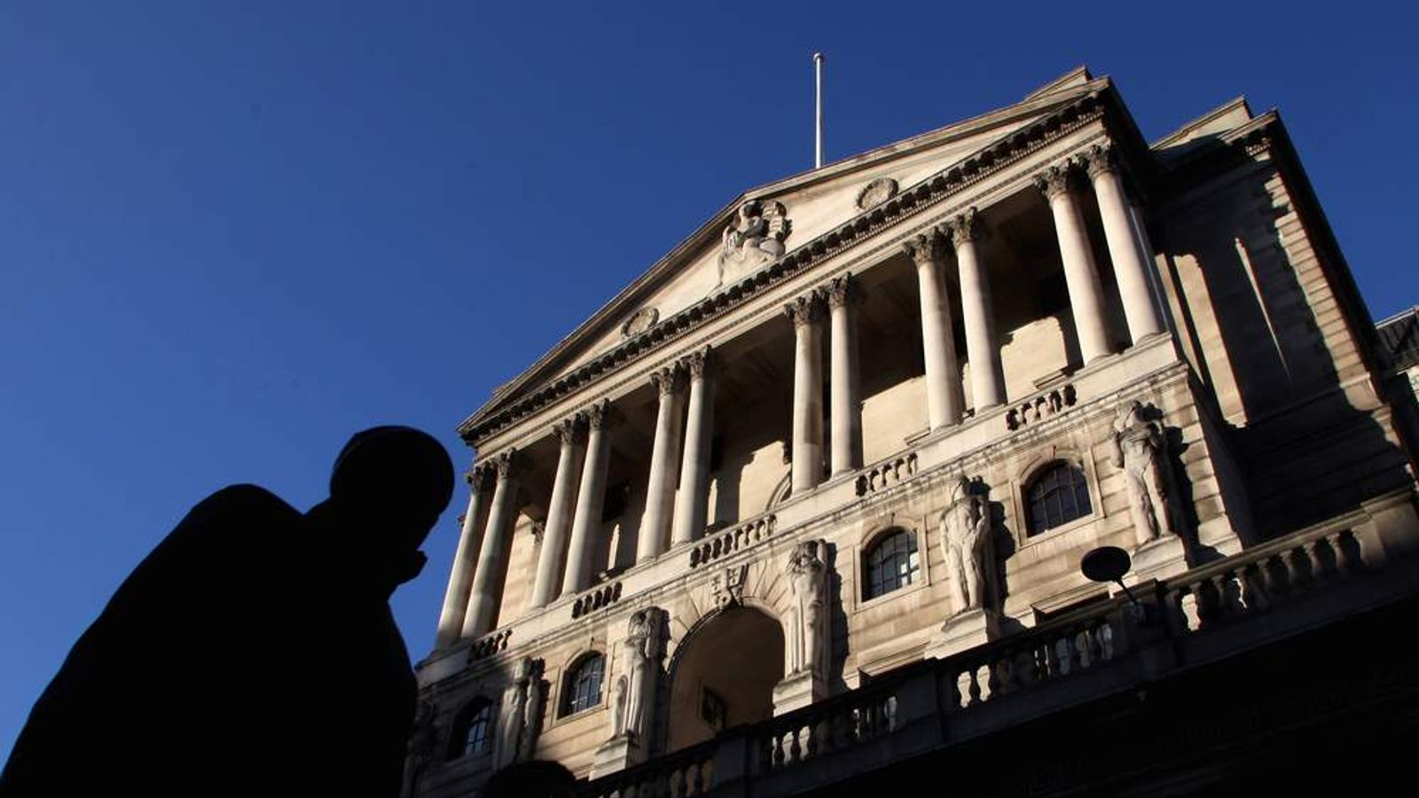 Bank of England In Sunshine