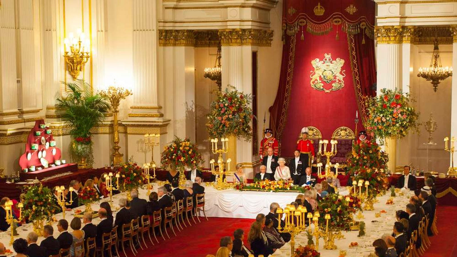 Secrets Of State Banquets At Buckingham Palace