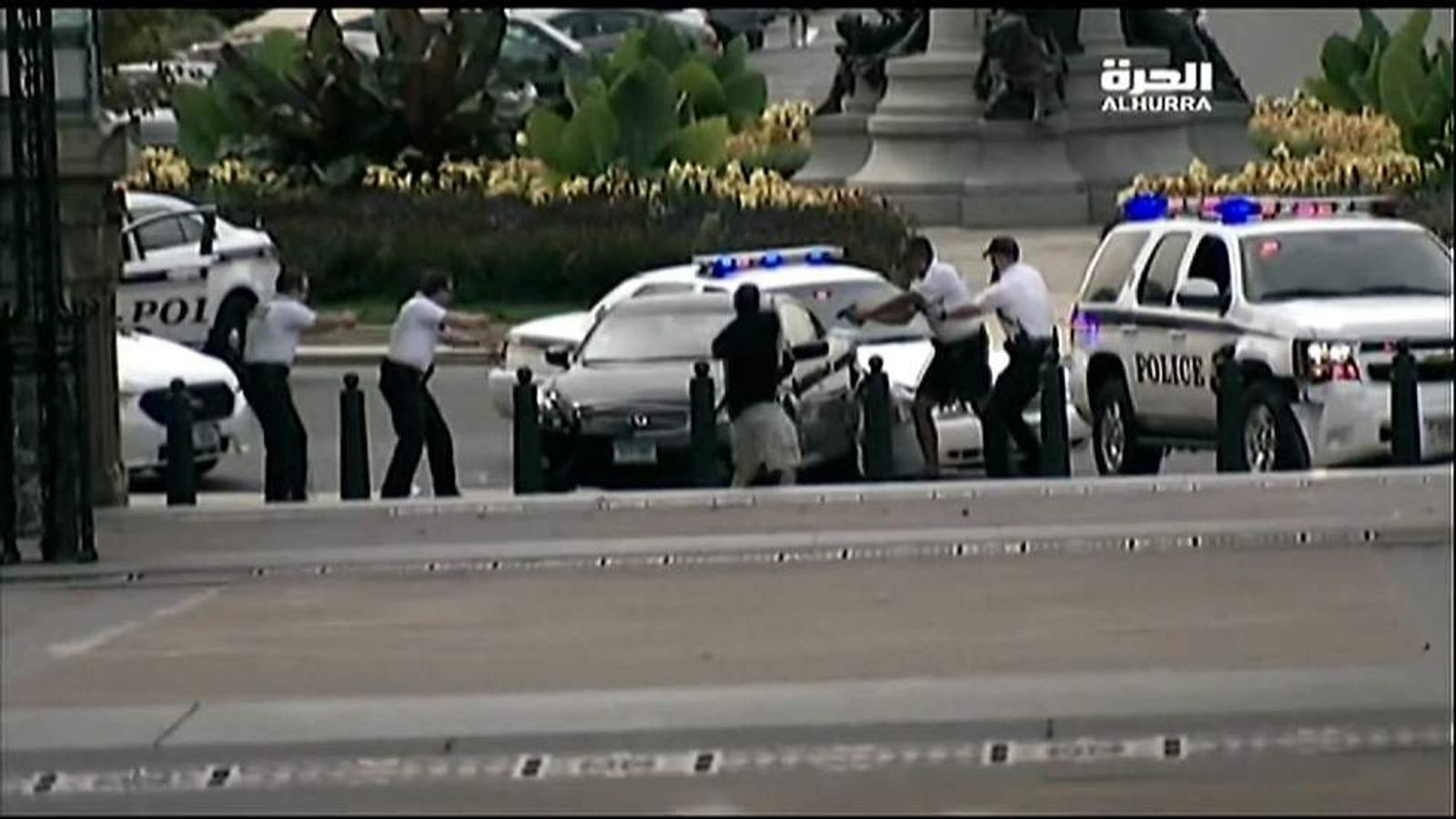 Capitol Car chase