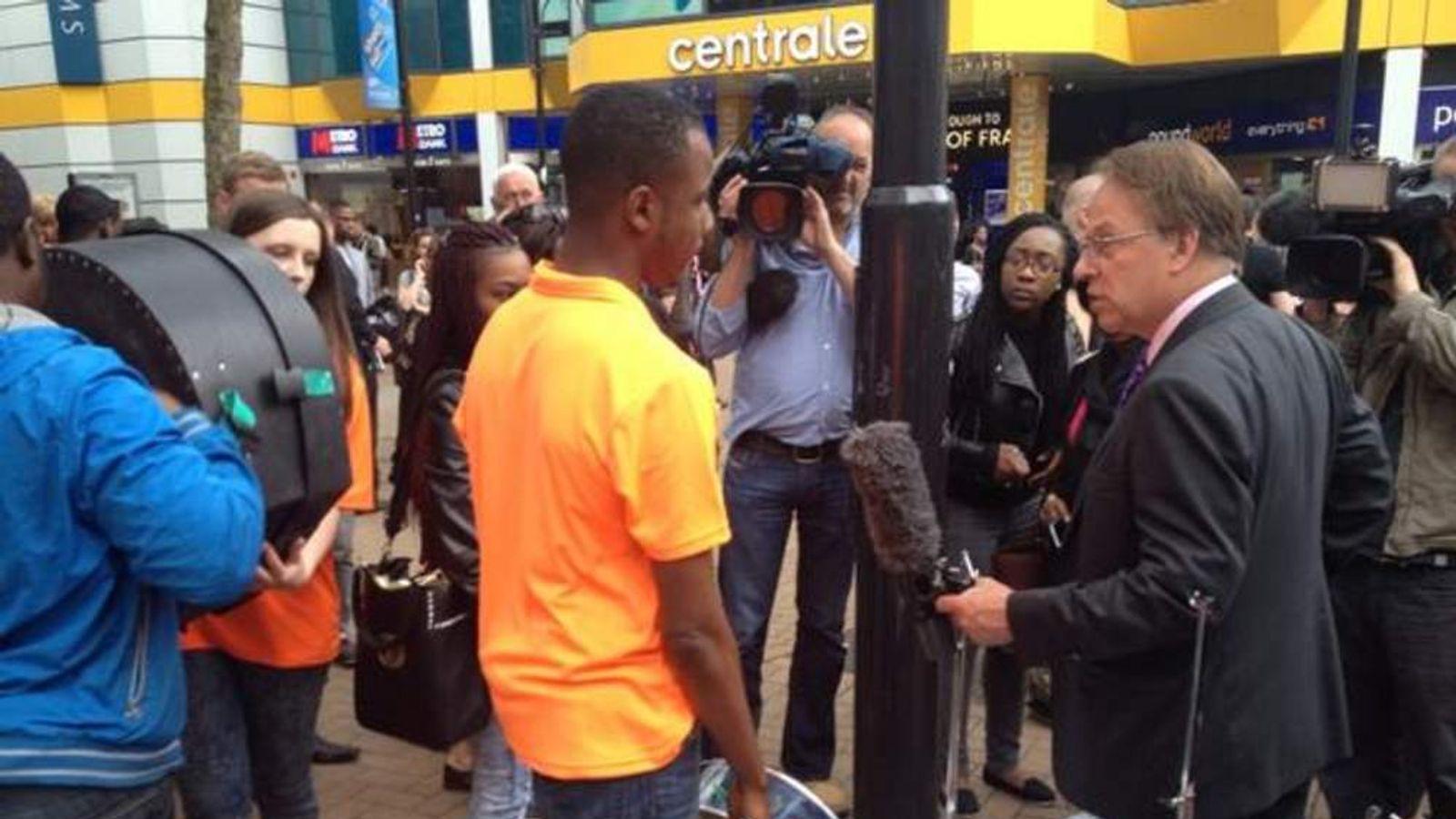 Steel band stops playing for UKIP in Croydon