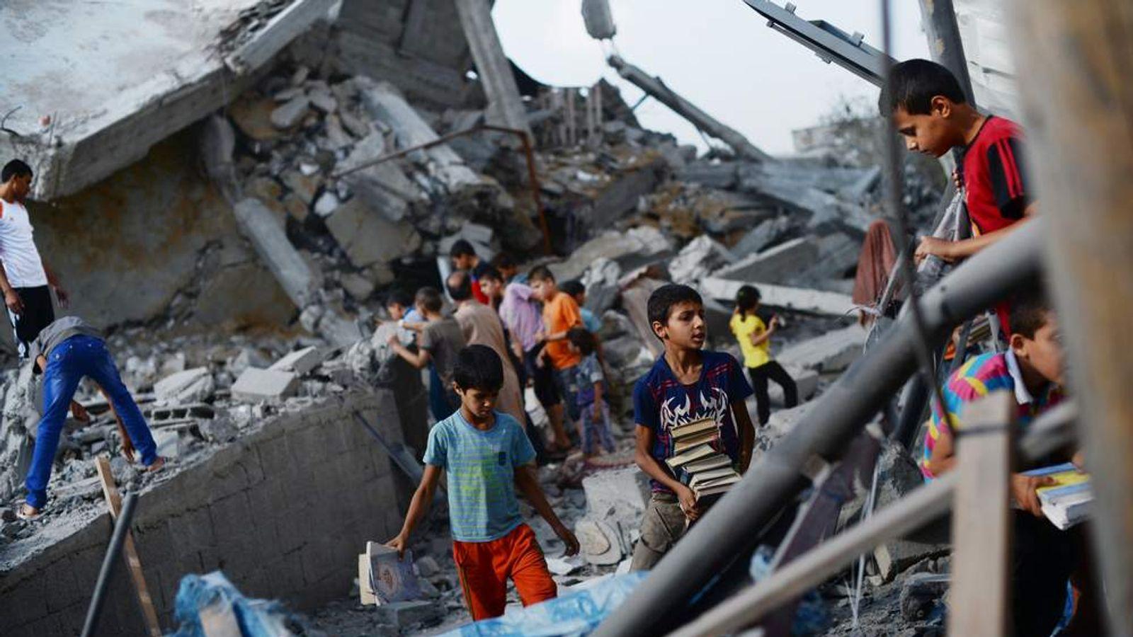 PALESTINIAN-GAZA-ISRAEL-CONFLICT