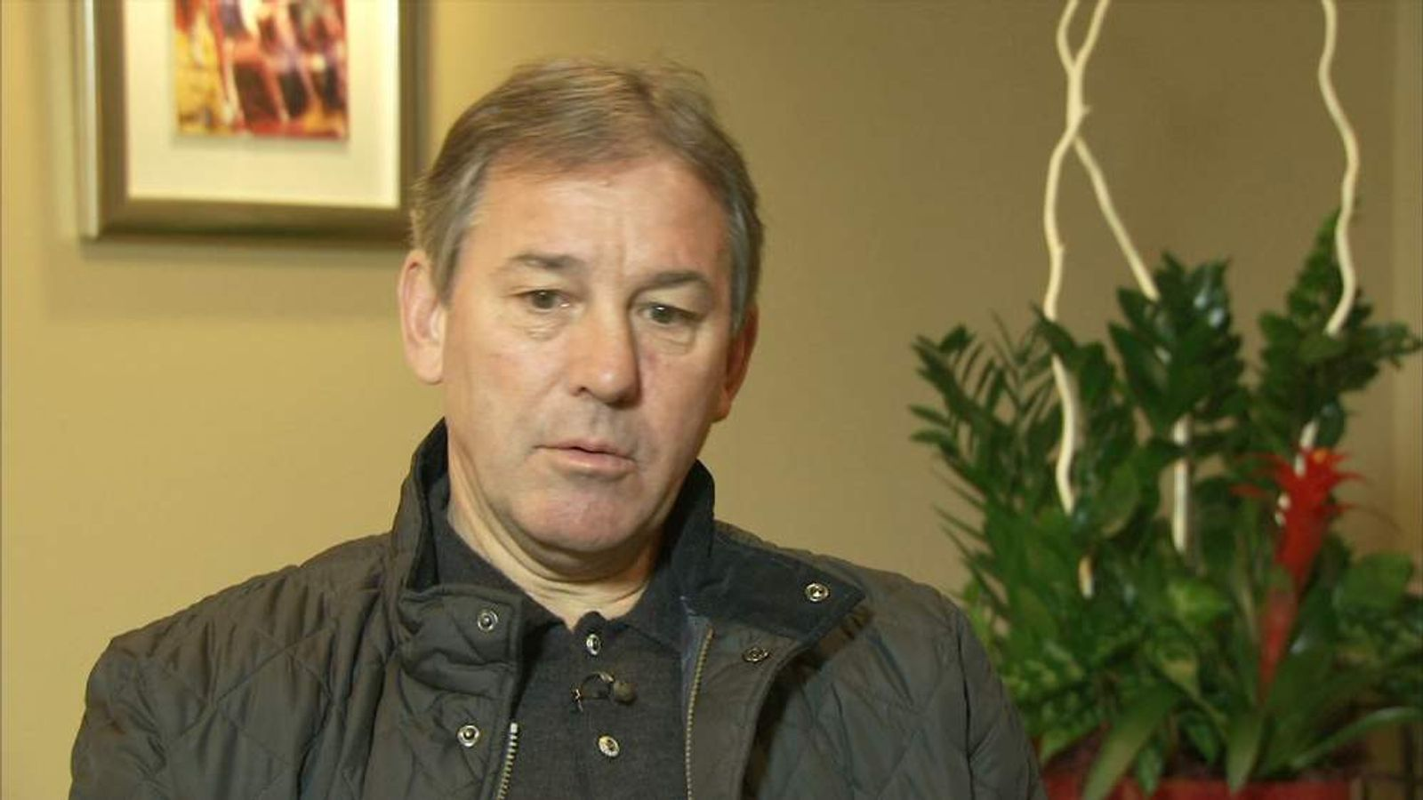 Bryan Robson Former Manchester United Captain