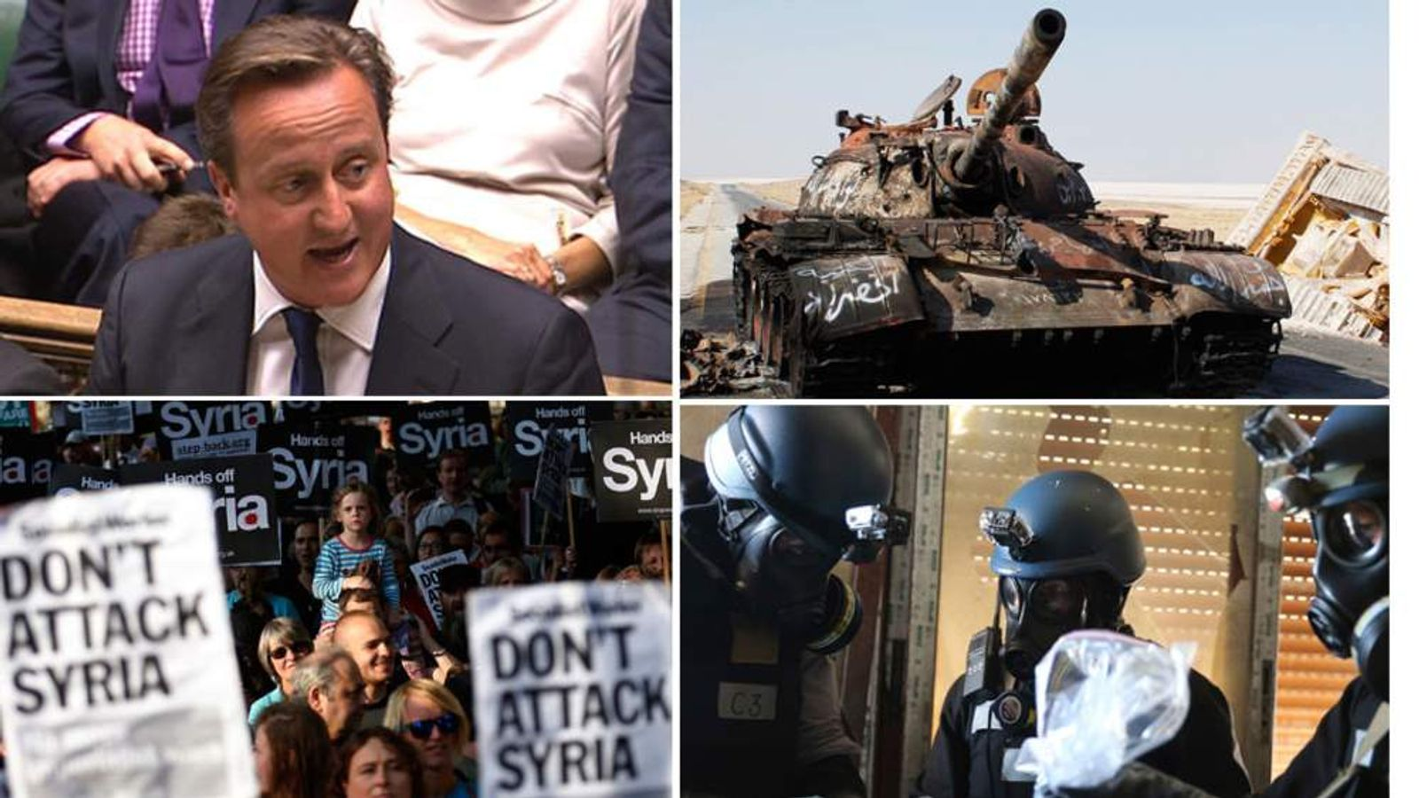 UK Government defeat over Syria