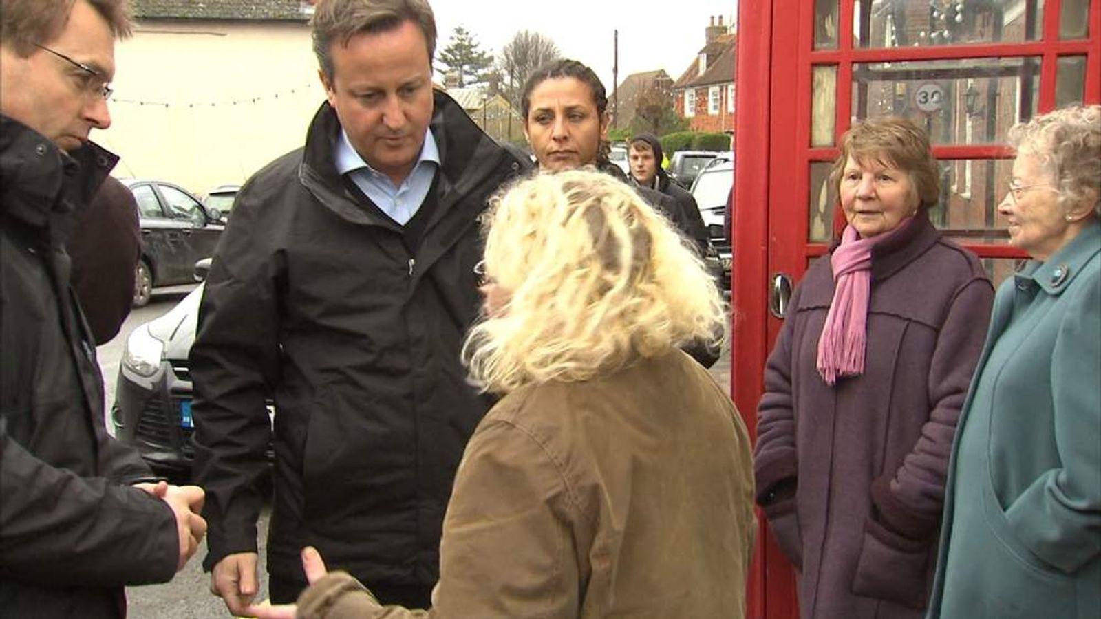 David Cameron and Erica Olivares