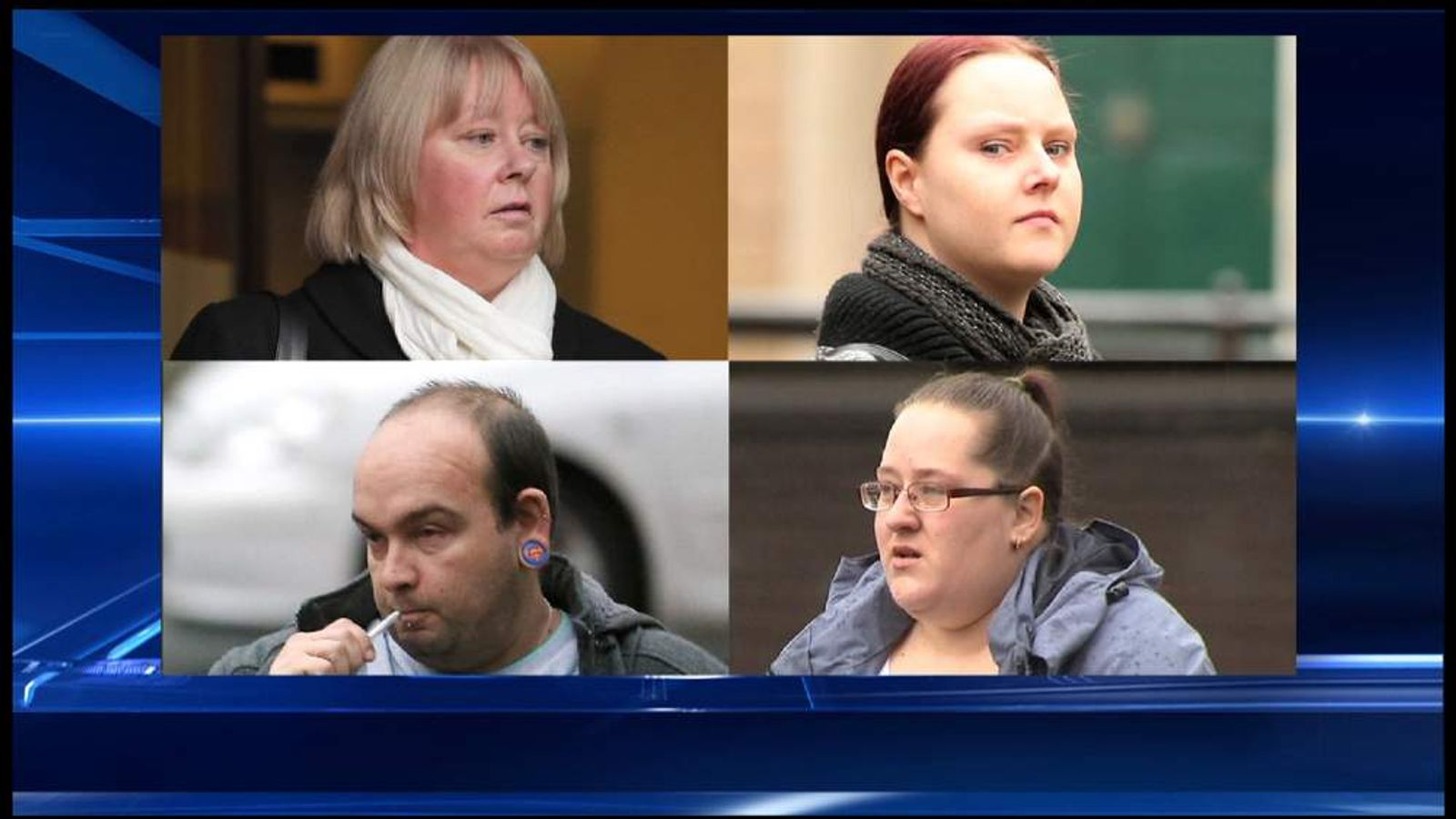 Care workers sentenced