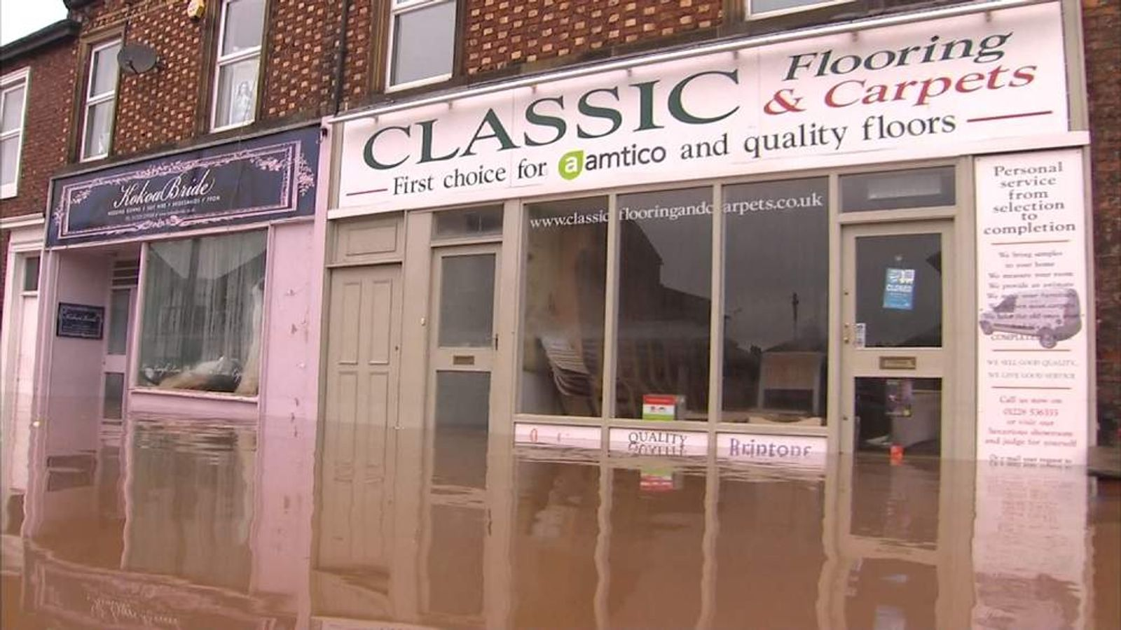 Flooded Businesses In Carlisle