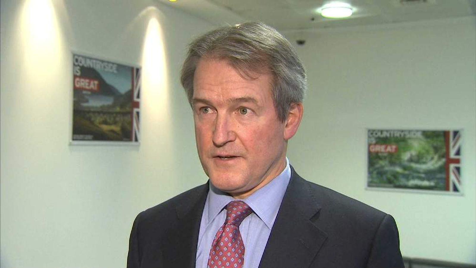 Environment Minister Owen Paterson