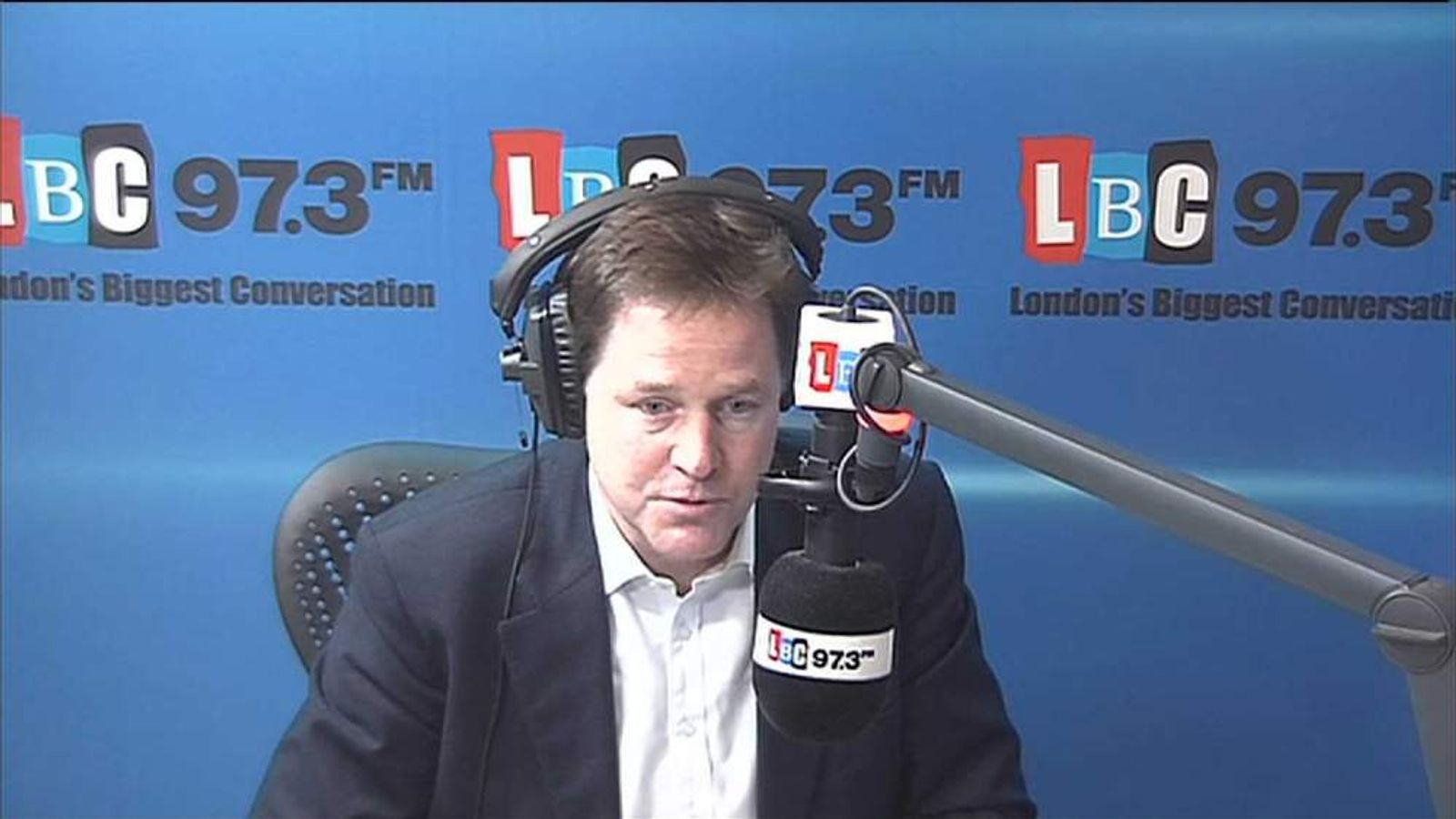 Nick Clegg on LBC
