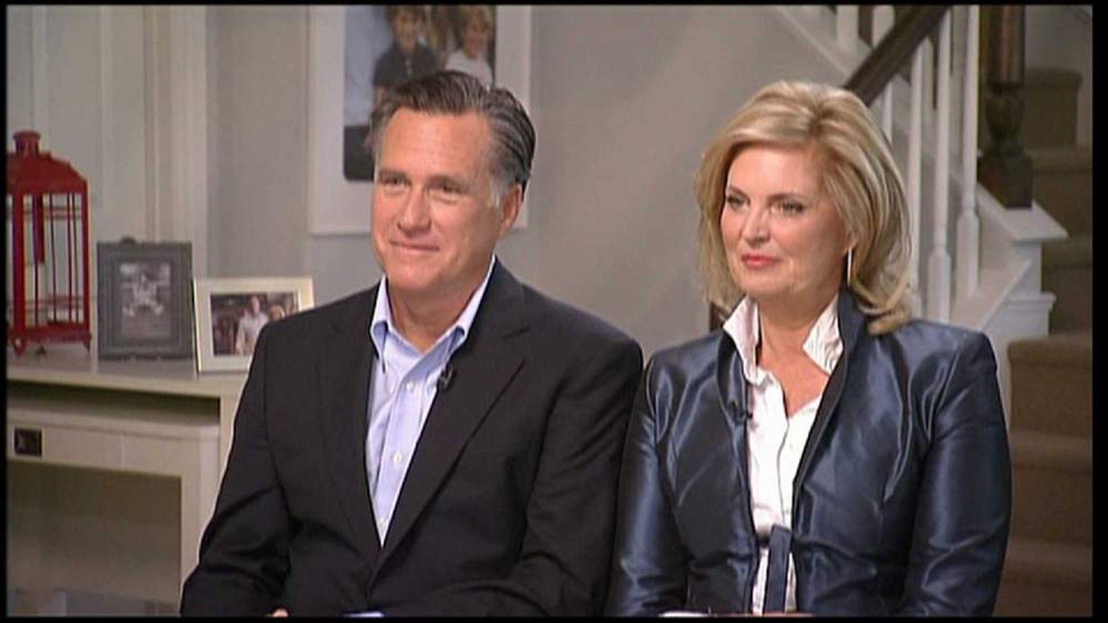 Mitt Romney makes public appearance on election defeat