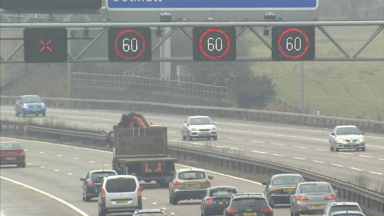 M42 Speed Signs