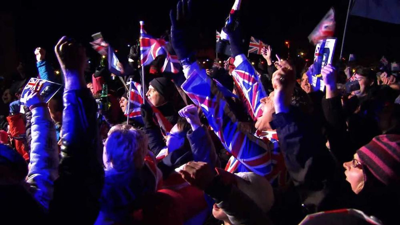 Falklands Votes To Stay British