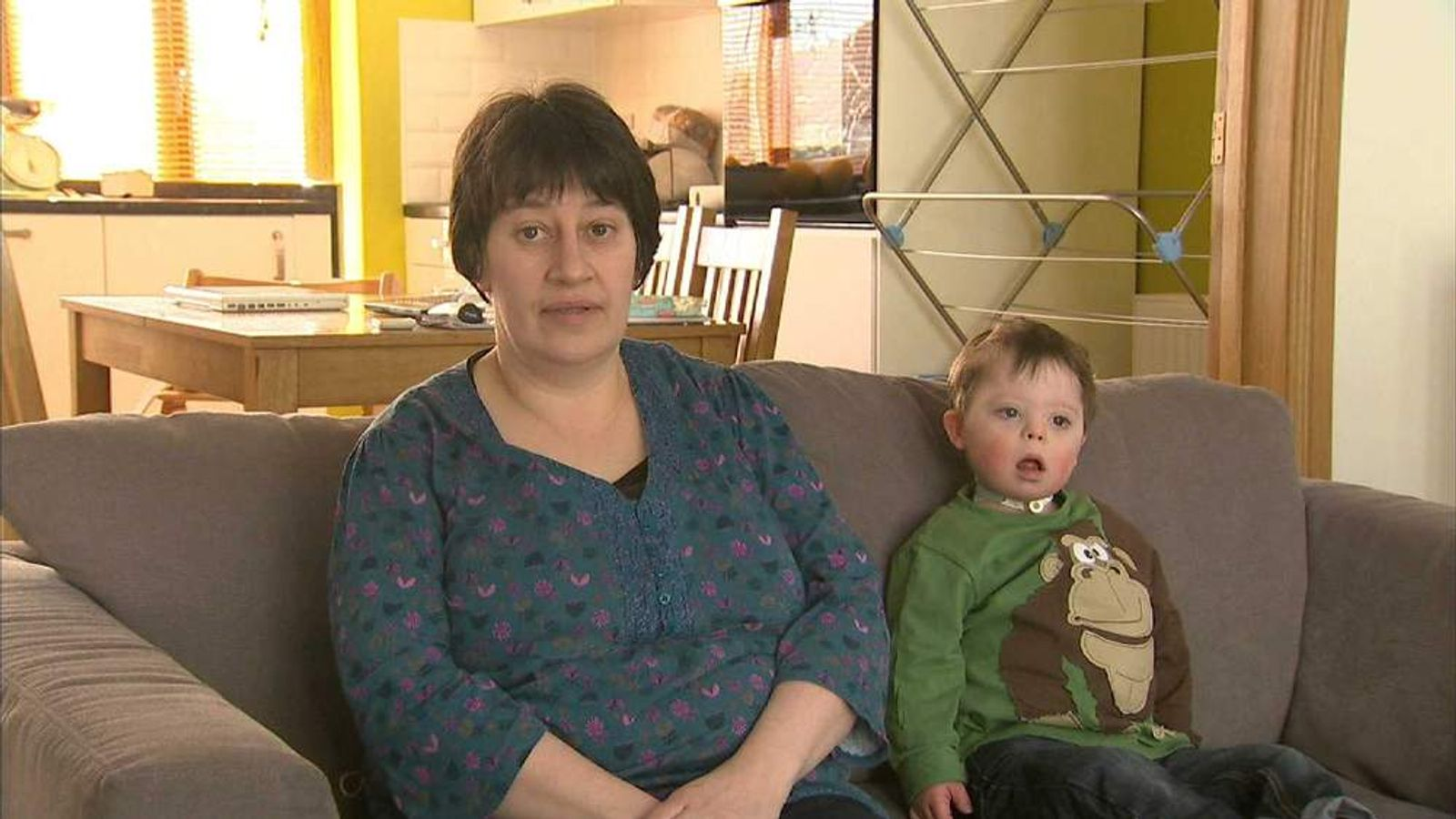 Leeds heart unit campaigner Stephanie Ward and her son Lyle
