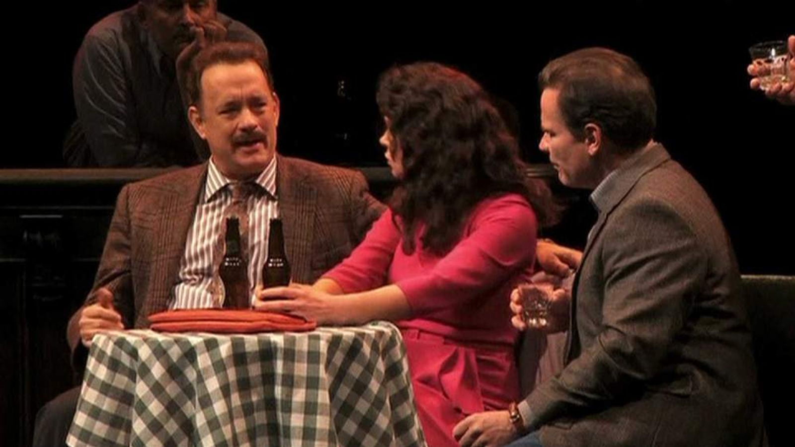 Tom Hanks on Broadway in Lucky Guy
