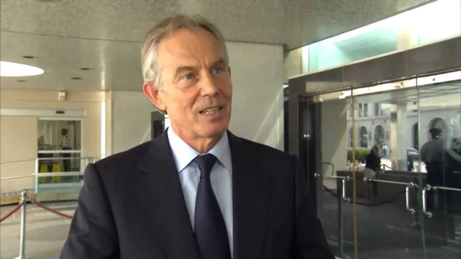 Tony Blair on Baroness Thatcher's death