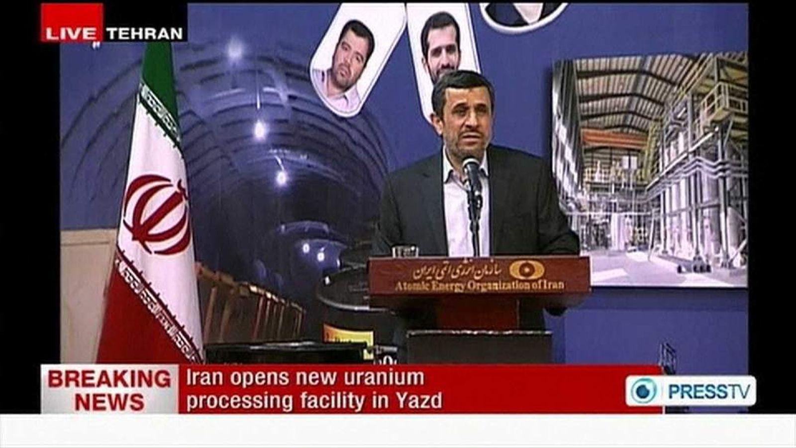 Iran opens nuclear production facility at Ardakan