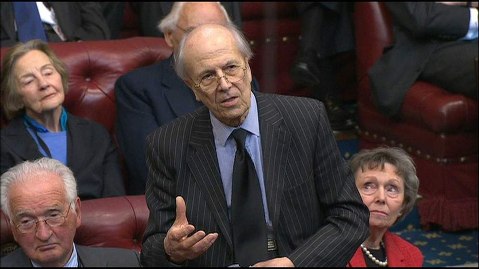 Lord Tebbit pays tribute to Lady Thatcher in the House of Lords