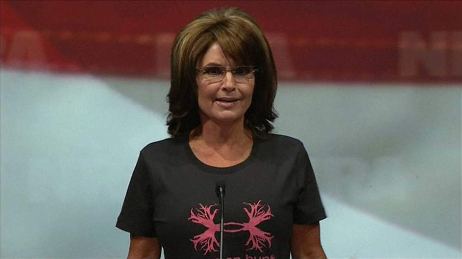 Sarah Palin at the National Rifle Association Convention