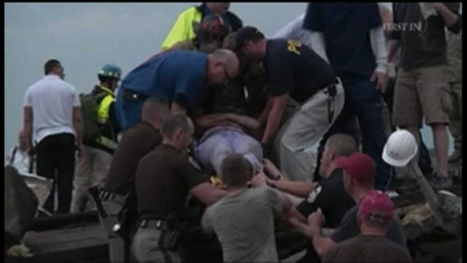 Survivor pulled from rubble of Moore City tornado