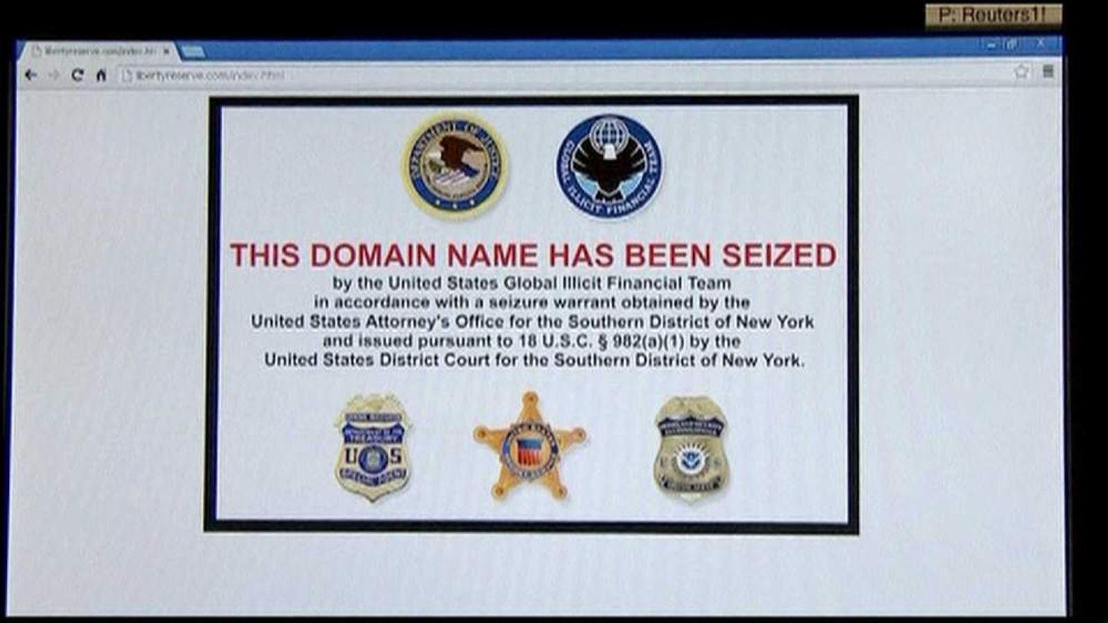 Liberty Reserve website