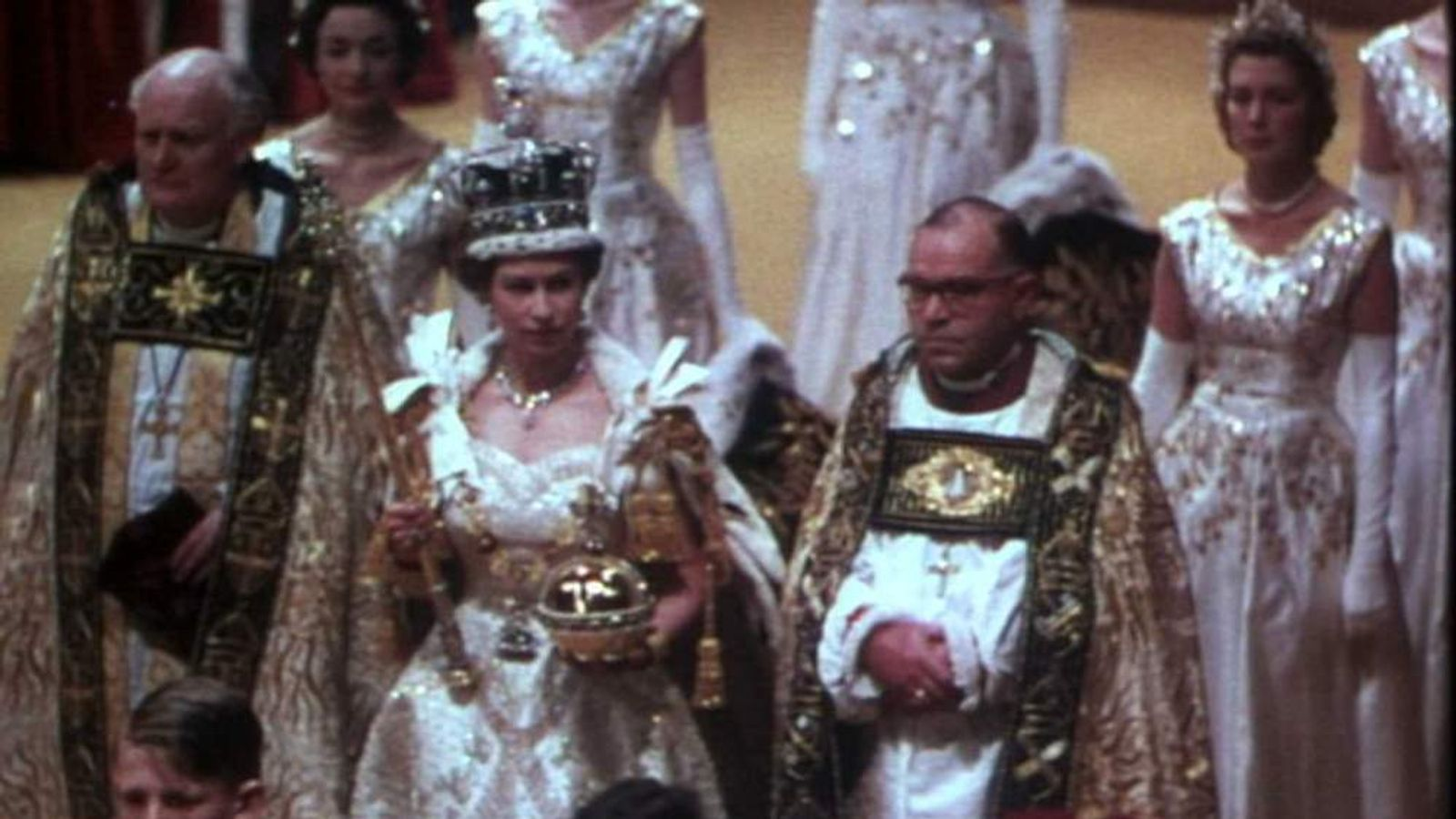 Queen Elizabeth II's coronation