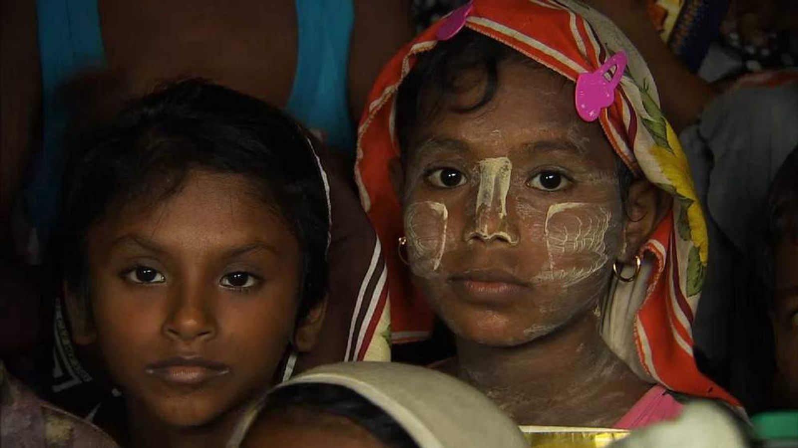Muslim refugees in Burma