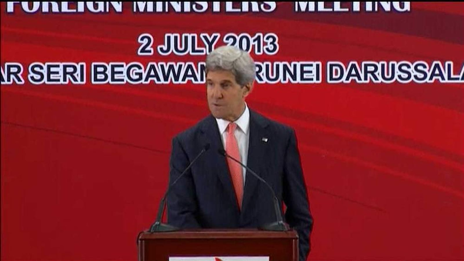 John Kerry responds to EU bugging