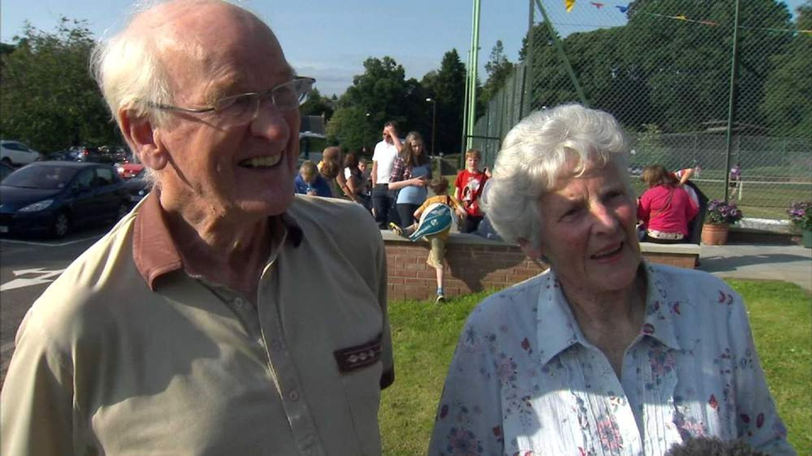 Andy Murray's grandparents