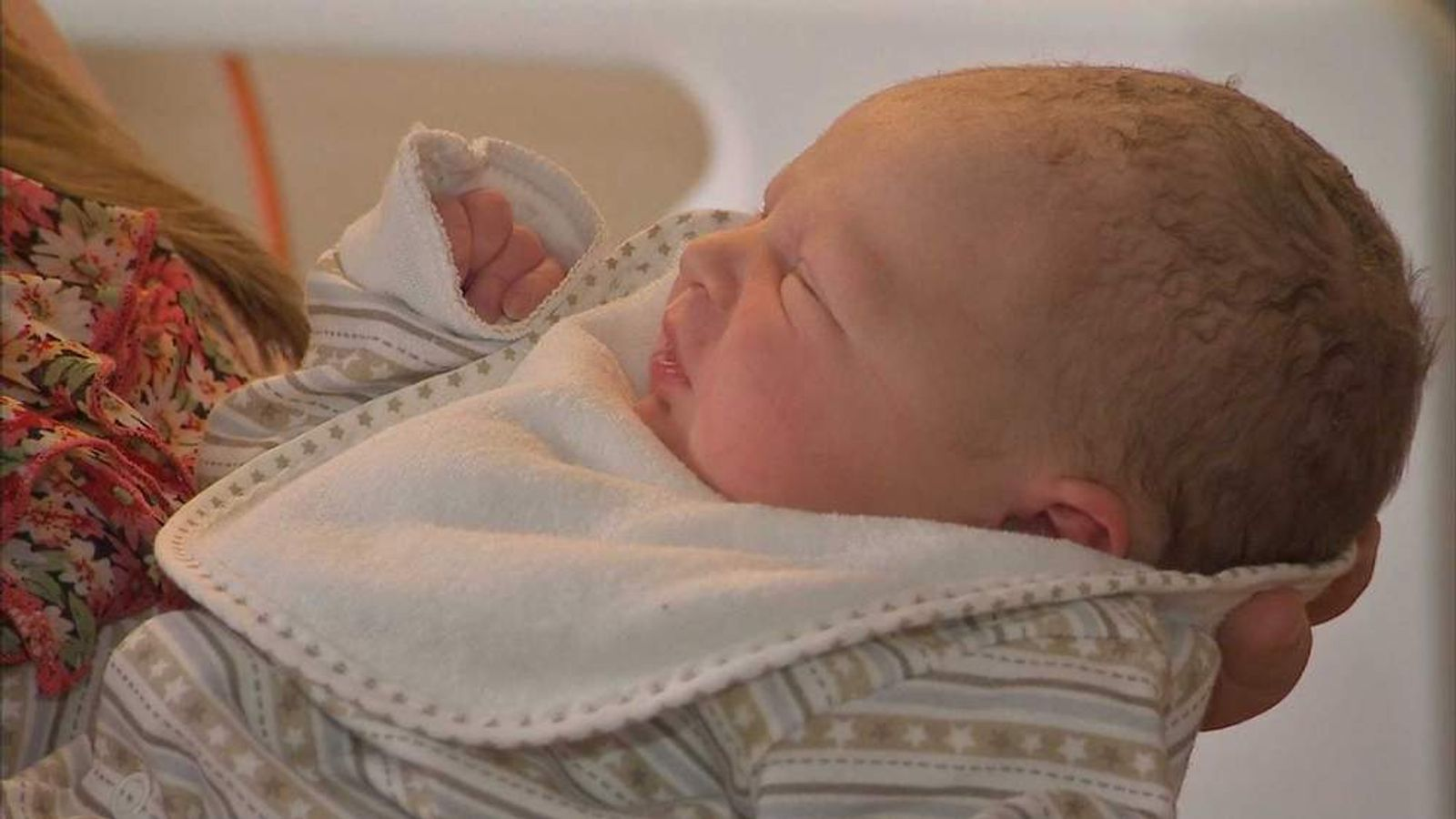 Child born on same day as Royal baby