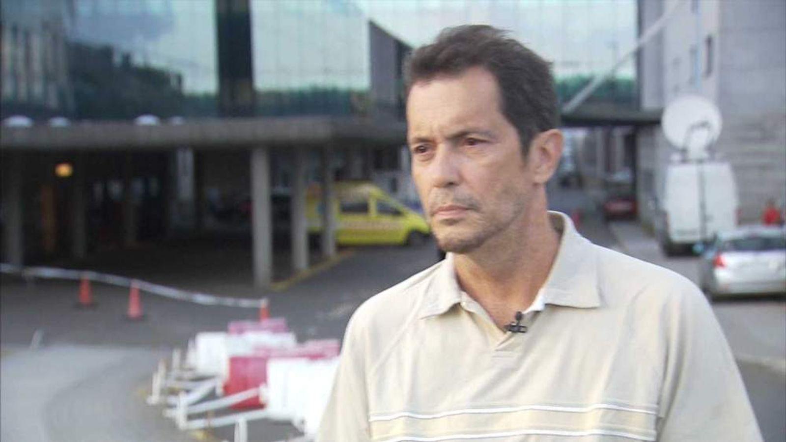 Spain train crash survivor Robert Fariza