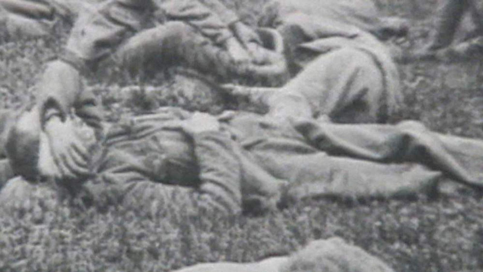 A First World War gas attack