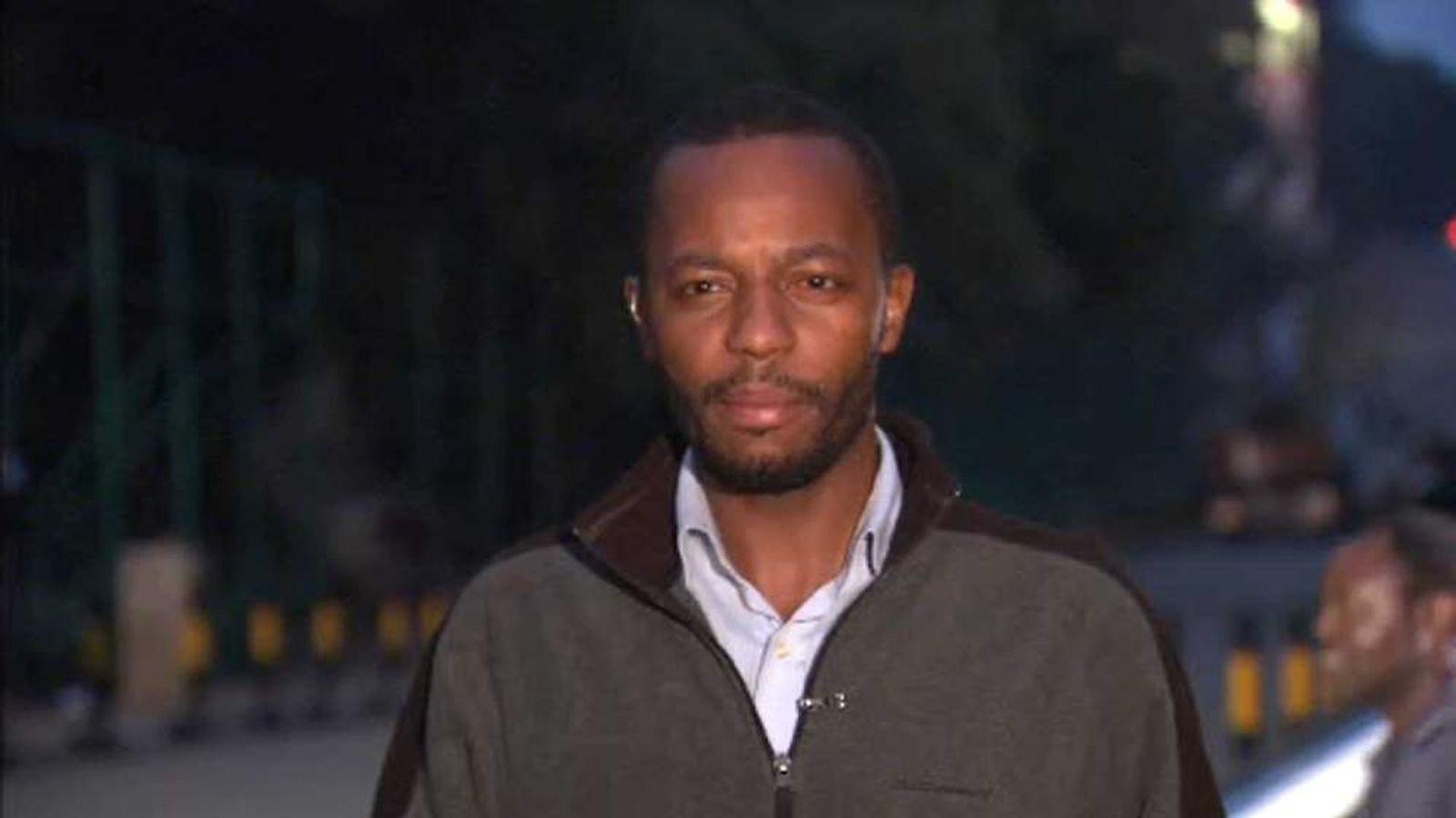 Ben Mulwa who was injured in Kenya shooting