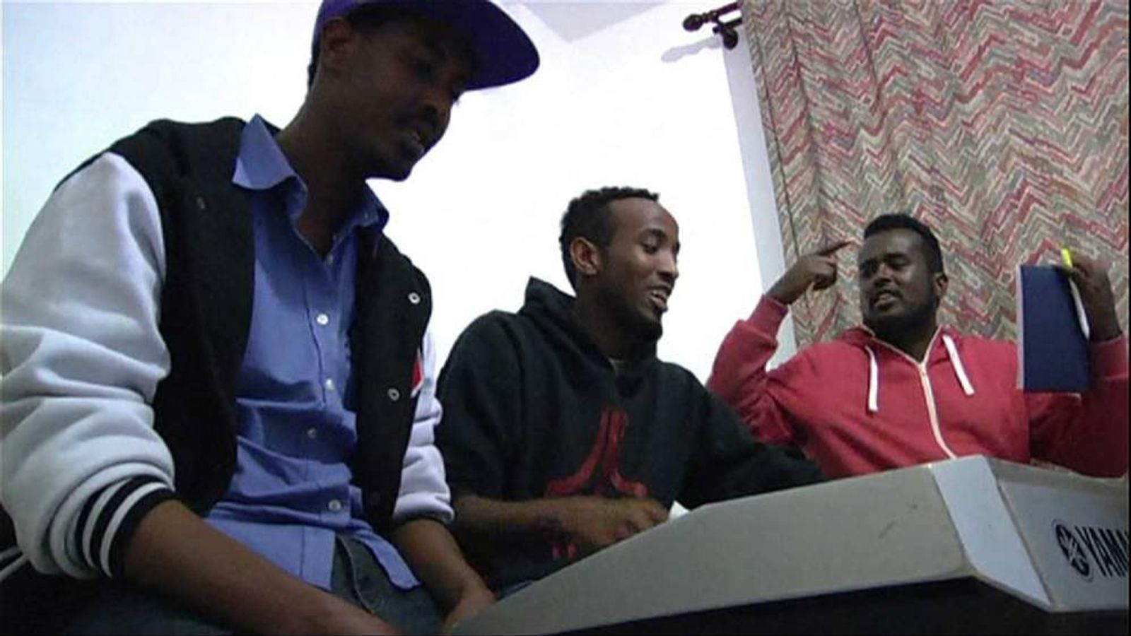 Somali musicians in Nairobi, Kenya