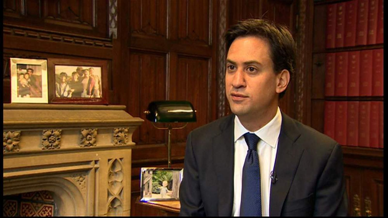 Ed Miliband talks about his family