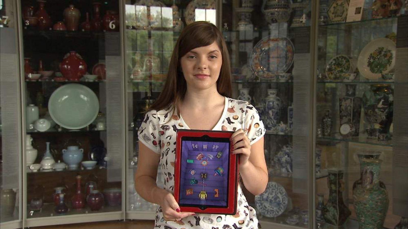 Games designer Sophia George