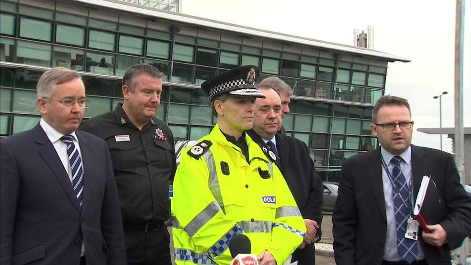 Sir Stephen House Glasgow helicopter crash