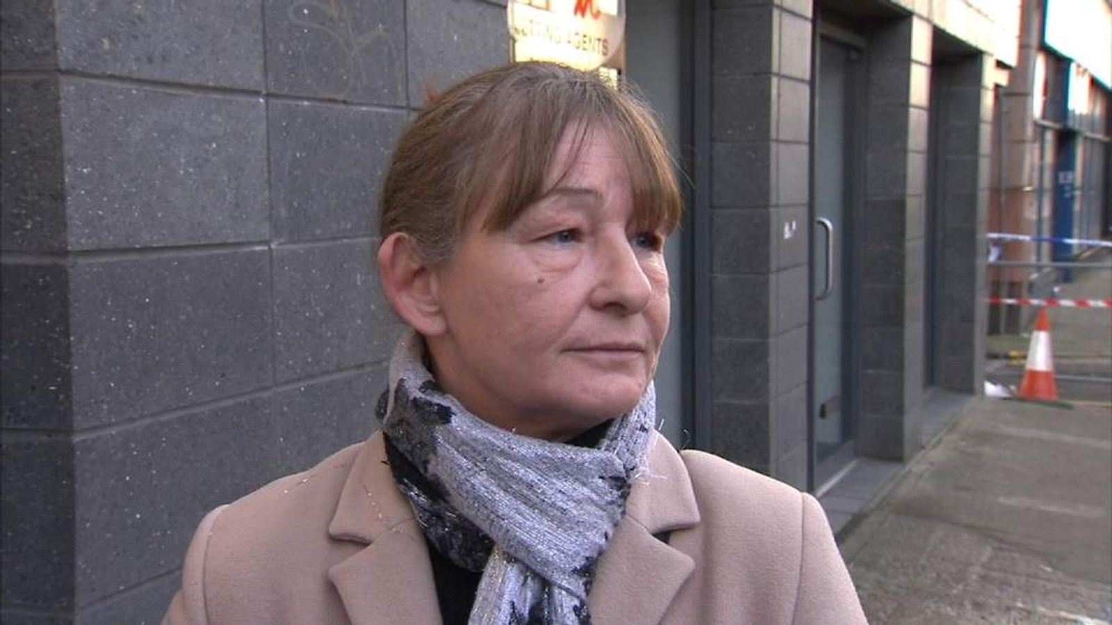 Alice Healy whose cousin was inside pub when helicopter crashed