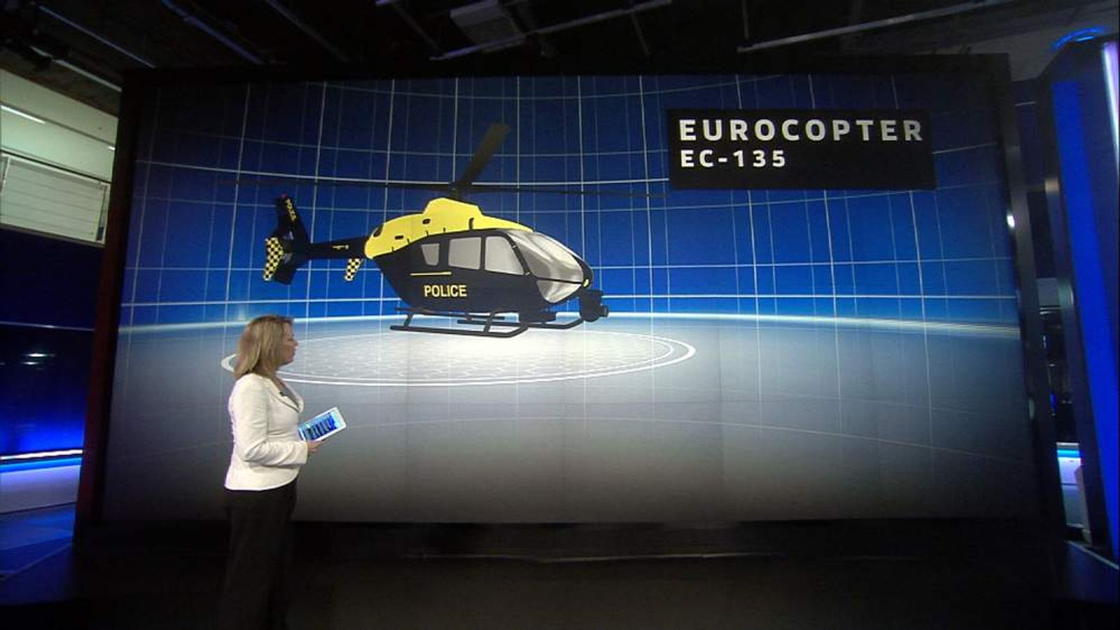Graphic of Eurocopter EC135