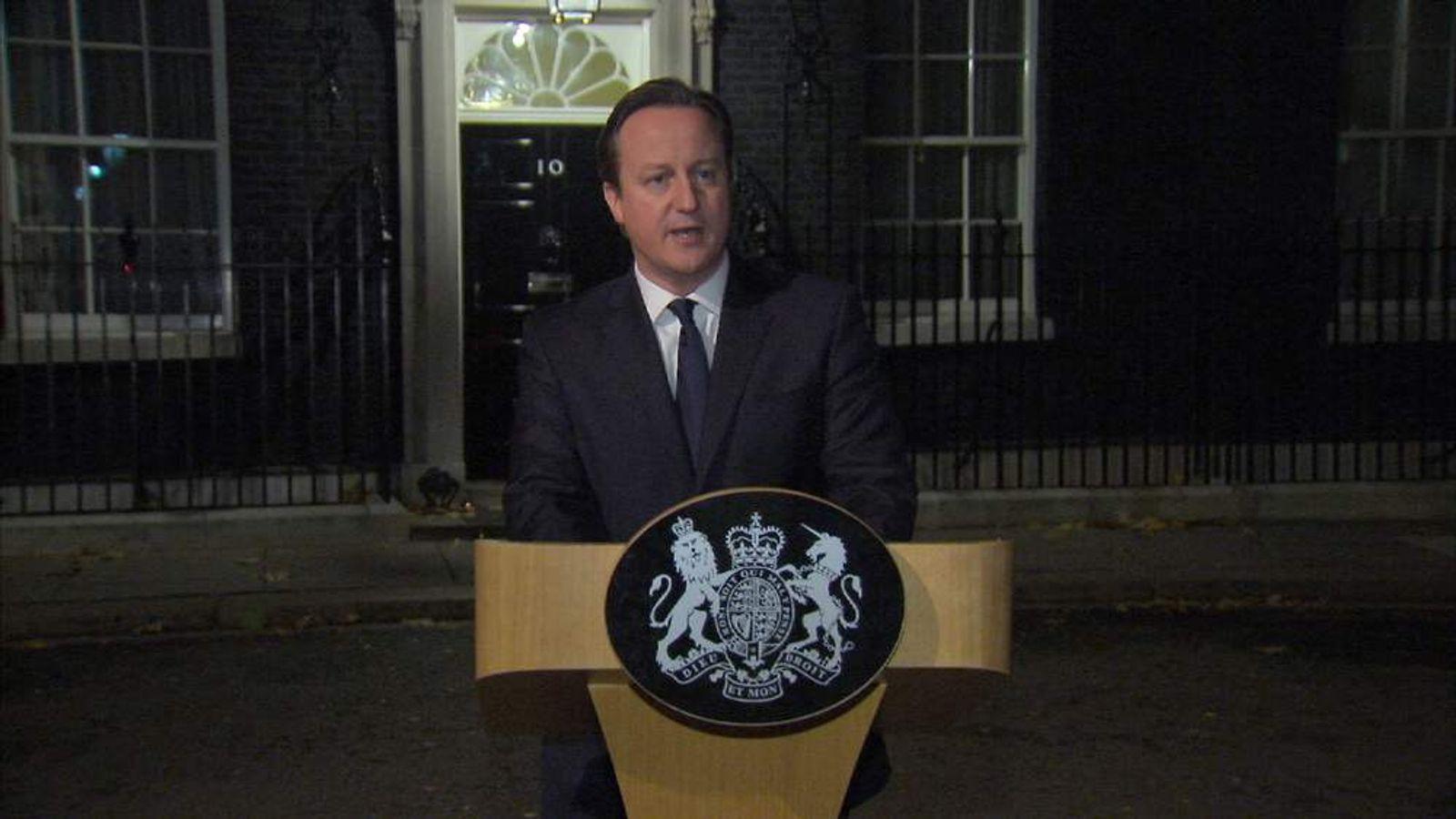 David Cameron Mandela statement