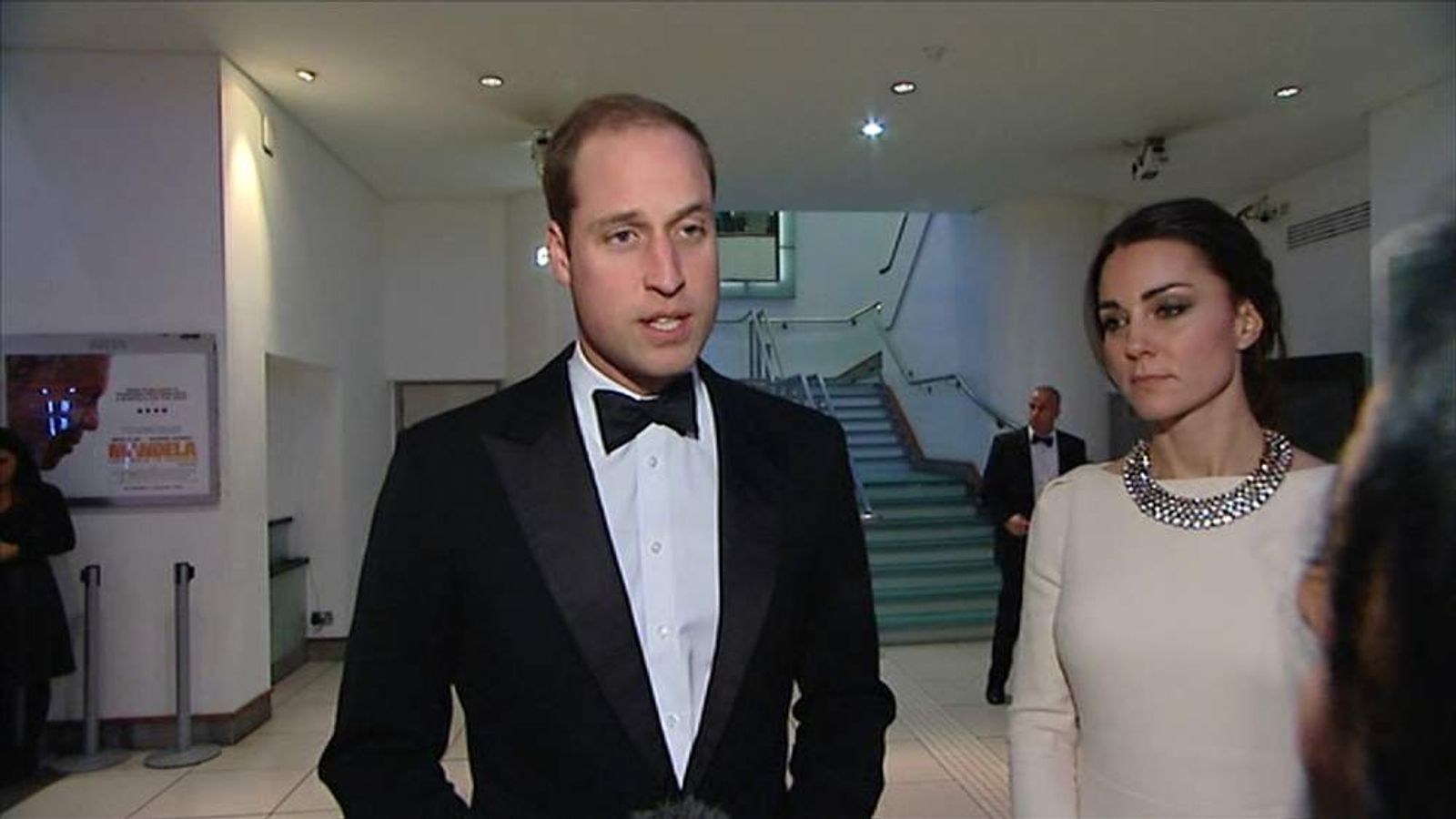 Prince William gives statement following Mandela's death