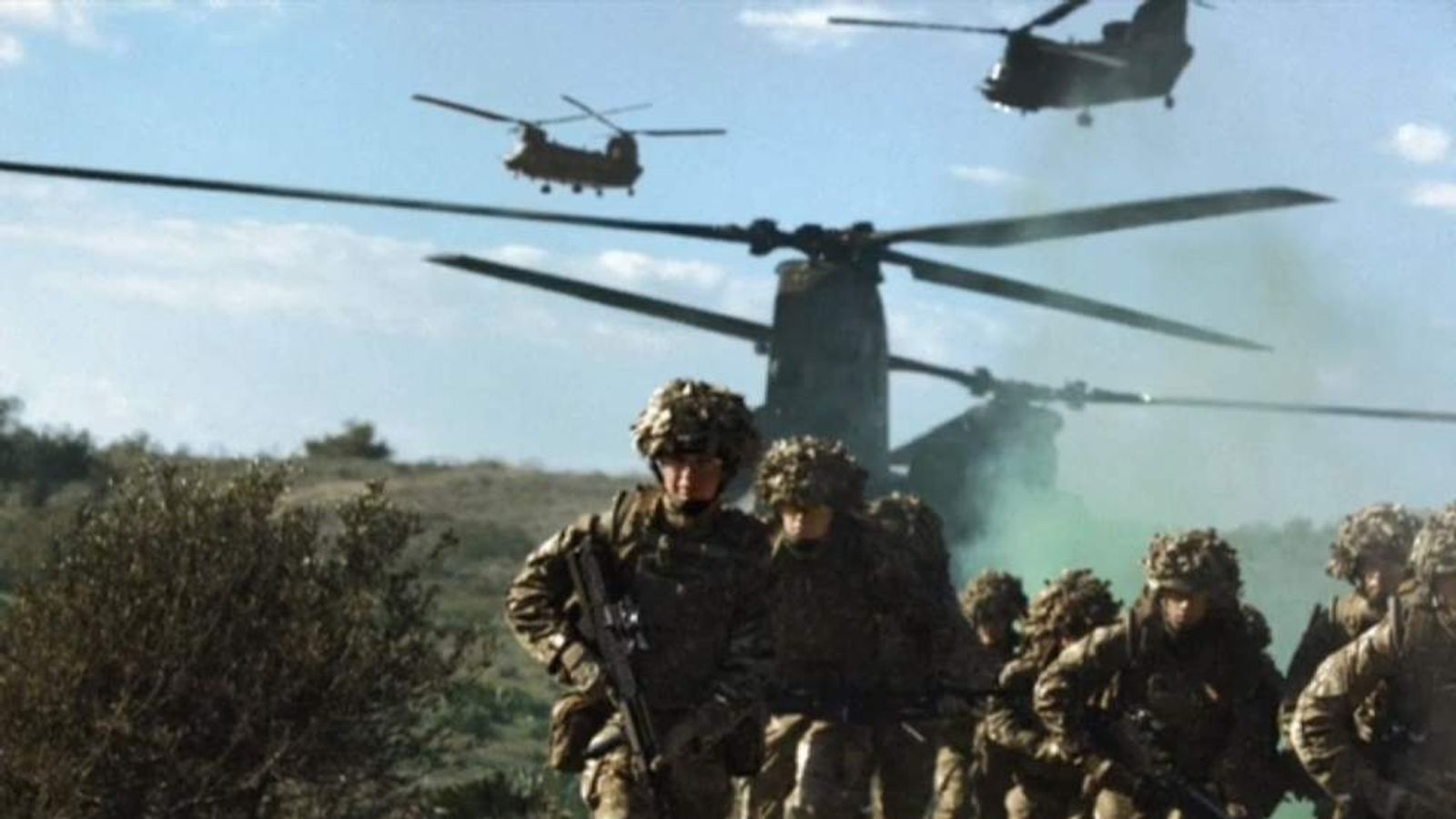 British Armed Forces recruitment drive