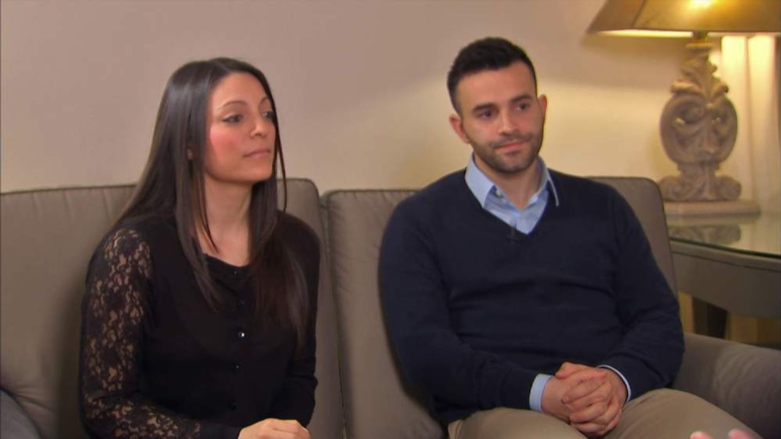 Meredith Kercher's siblings, Stephanie and Lyle.