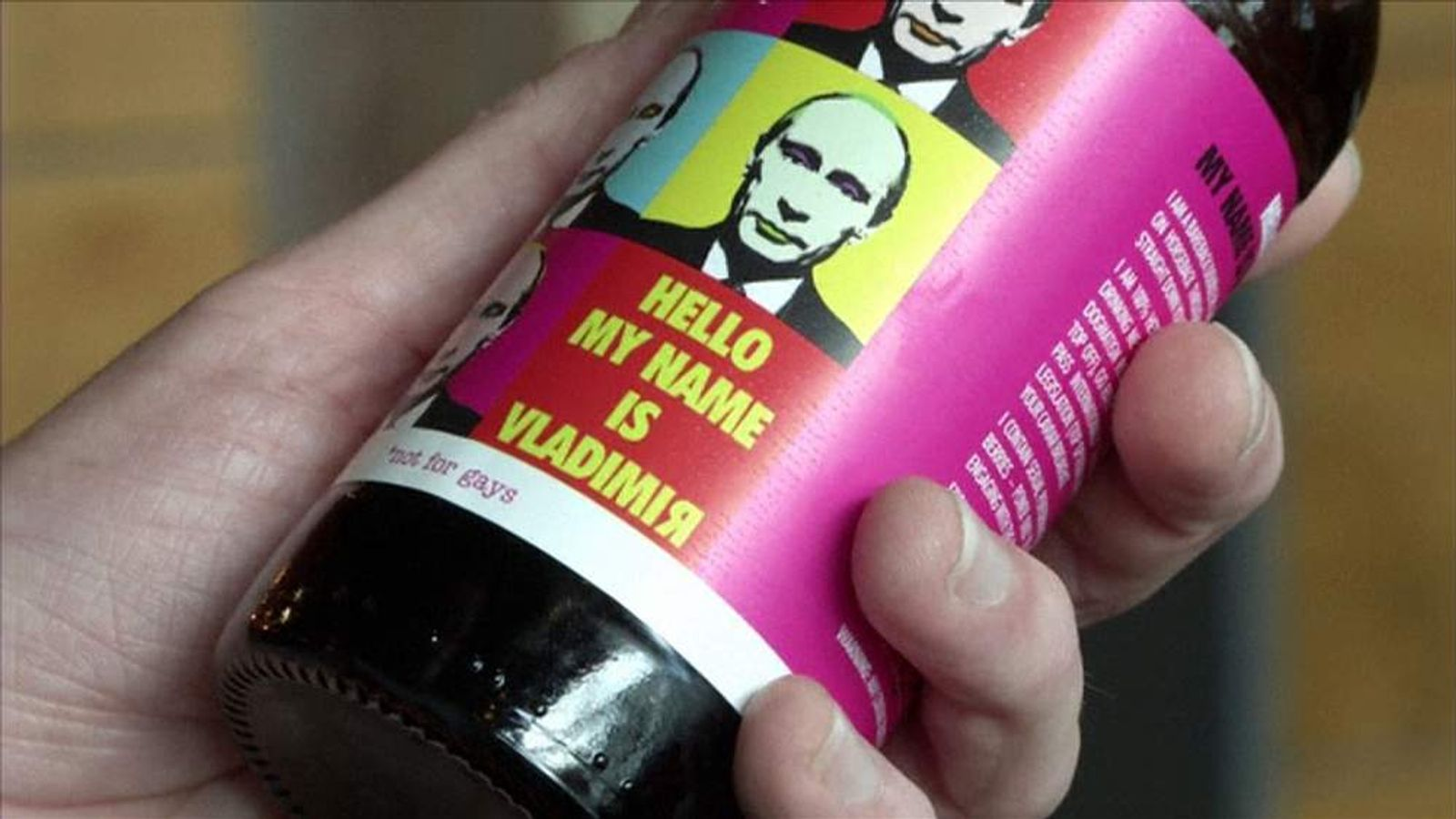 Scottish brewery makes Vladimir Beer