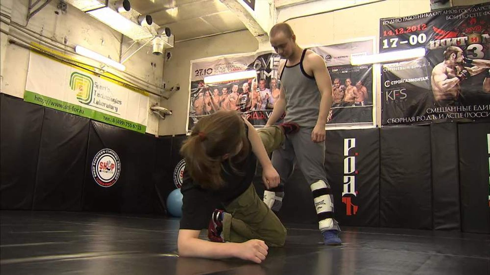 Gay Russians Learn Self-Defence