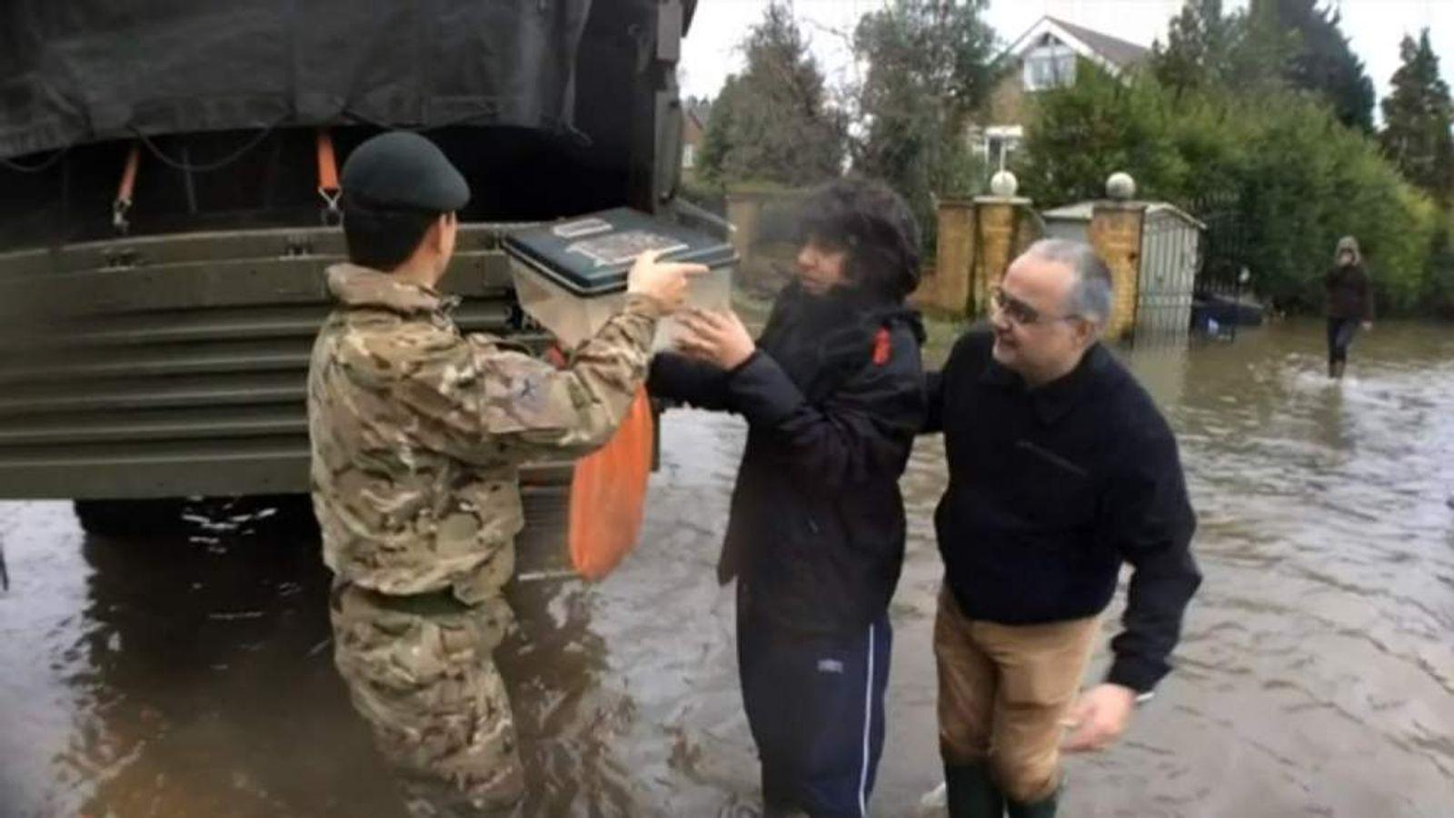 Chertsey Flooding