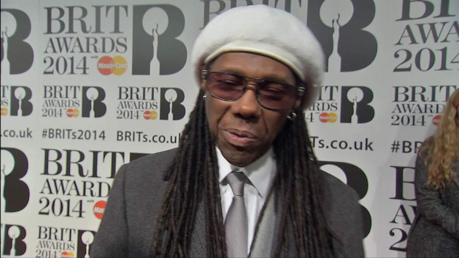 Nile Rodgers On The Red Carpet